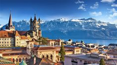 Top 10 Places You Can't Miss In Switzerland Top 10 Places You Can't Miss In SwitzerlandFor ravishing alpine scenery and quaint villages oozing storybook charm, it's hard to beat Switze Lugano, Lausanne, Switzerland Tour, Places In Switzerland, Zermatt, Basel, Destinations D'europe, Old Poster, Location Camping Car