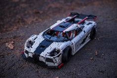 LEGO Technic Koenigsegg One by VKTechnic on Flickr via Brothers-Brick.com