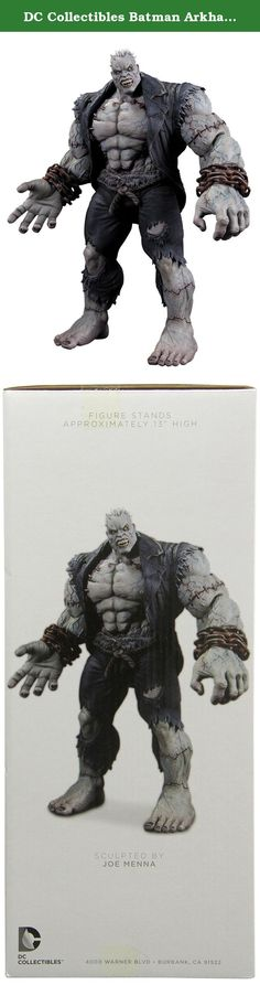 """DC Collectibles Batman Arkham City Solomon Grundy Deluxe Action Figure. BATMAN ARKHAM CITY SOLOMON GRUNDY DLX AF DC COMICS Solomon Grundy was born on a Monday, but this insanely detailed, oversized action figure based on his appearance in the best-selling, critically acclaimed video game BATMAN: ARKHAM CITY is perfect for display any day of the week! Figure measures over 13"""" tall! Features removable heart and chest!."""