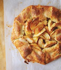 If you're looking for a truly low-maintenance apple pie, this one requires zero fancy crimping. The forgiving dough lets you pile in the fruit, then you simply fold over the edges. Click through for this and more of the best easy recipes for pie.