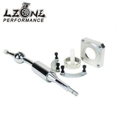 LZONE RACING- SHORT SHIFTER  FOR NISSAN 240SX SOLID CHROME S13 S14 200SX SHORT THROW SHIFTER REPLACEMENT KIT JR5399