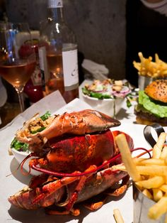 #yolofood - BURGER AND LOBSTER  29 Clarges Street, Mayfair, London, W1J 7EF  www.burgerandlobster.com