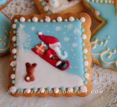 Outstanding Santa Cookies Cookie Connection Good Eats Pinterest Santa Easy Diy Christmas Decorations Tissureus