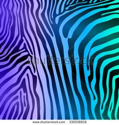 Zebra Stripes Seamless Pattern art