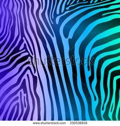 Zebra Stripes Seamless Pattern art