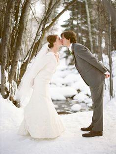 Elegant Winter Wedding in Colorado
