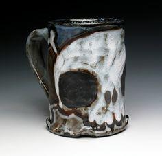Large Skull and Crossbones Tankard