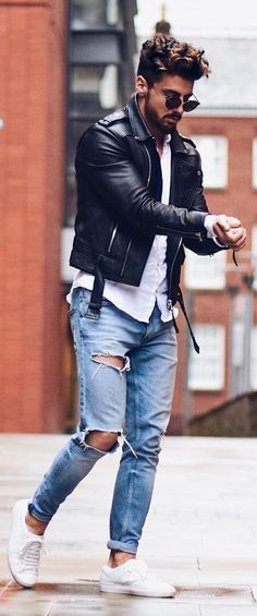 Mens leather jackets.  Leather jackets can be a crucial component to each and every man's closet. Men will need outdoor jackets for several situations and several weather conditions