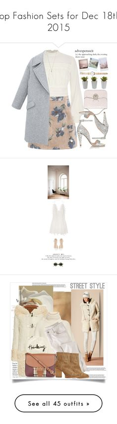 Top Fashion Sets for Dec 18th, 2015 by polyvore on Polyvore featuring polyvore fashion style River Island Miu Miu Azzurra Gronchi Nearly Natural Minor Obsessions Chloé Zara Yves Salomon ADAM Eugenia Kim Wrap rag & bone Burberry Rebecca Taylor URBAN ZEN Christian Louboutin Michael Stars Frauenschuh Balenciaga Deborah Lippmann Boohoo Kate Spade Neiman Marcus Lana Valentino Lancôme Yves Saint Laurent Anna-Karin Karlsson Bottega Veneta DANNIJO Gianvito Rossi Maison Margiela Dolce&Gabbana…