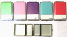 KING SIZE REGULAR HINGED CLASSY QUALITY CIGARETTE CASE HOLDER HOLDS 10 - 12 CIGS