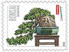 USPS Bonsai stamp