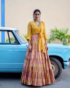 Regina Cassandra, Dress Indian Style, Beautiful Actresses, Kids Wear, Indian Fashion, Sari, Skirts, How To Wear, Beauty