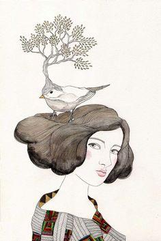 turn to art-juliana cordaro-sem título-desenho