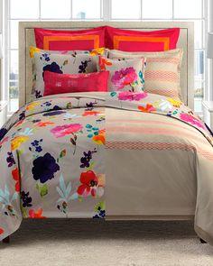 Spotted this Keeco Merritt Cotton Reversible Comforter Set on Rue La La. Shop (quickly!).