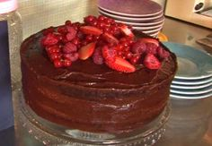 Devil's Food Chocolate Cake