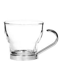 TAZZINE Espressotasse    Für den heißen Genuss ohne heiße Finger bringt die formschöne Tazzine-Espressotasse aus Glas einen abnehmbaren Edelstahlgriff mit. Auch als Kaffee- und Teetasse erhältlich.    Größe: Breite 6,7 x Tiefe 6,7 x Höhe 6,2 cm, Füllmenge: 10 ml  Material: Glas, Edelstahl...