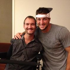 These 2 guys Nick Vujicic & Tim Tebow trusted God! They followed whatever God told them to do & now they are fulfilling the purpose that God created them for! With courage,faith, trust,strength,wisdom patience,and loyalty they were led by God to be great men of God & help change the world! This led to both of them crossing paths and uniting together to help build God's kingdom! They are living great lives!