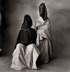 Irving Penn two guedras 1974