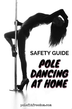 Pole Dance 101 Safety Guide - Pole Fitness Safety At Home - When youre pole dancing safety is the most important thing. Whether youre pole dancing at home or in a professional studio there are certainly risks involved with this type of activity. Pole Dancing Clothes, Pole Dancing Fitness, Pole Fitness, Dance Fitness, Pole Dance Outfit, Dance Outfits, Dance Dresses, Dance Wear, Portable Dance Pole