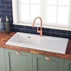 86 best Ceramic Kitchen Sinks images on Pinterest in 2018 | Ceramic ...
