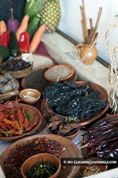 Condimentos comida guatemalteca
