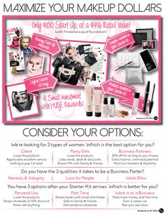 Last 3 days to take advantage of our September On Sale Starter Bag! Only $75 for all this! Best time of year to start something new! Message or text me for more info. 704.975.2432, www.marykay.com/atuller