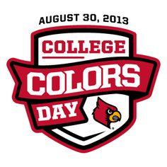 Louisville @Allison Palmer Cardinals #louisville #cardinals #cards #gocards #collegecolors