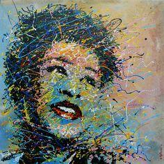 """ELLA FITZGERALD"""" - antonio montanaro - Artwork Celeste Prize"""