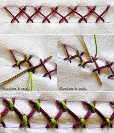 Hand Made - Kreatívna tvorba od A - Z: Vzory na vyšívanie