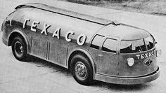 """Diamond T """"Doodlebug"""" fueler tanker truck"""