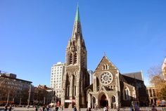Christchurch Cathedral, NZ pre- earthquake Notre Dame, New Zealand, Cathedral, Tourism, My Photos, Adventure, Architecture, City, World