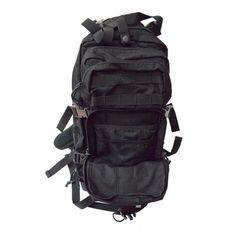 Black 3-day Assault Pack Backpack   Overstock.com