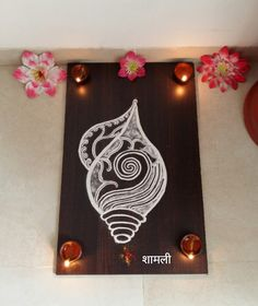 Creative shankha rangoli
