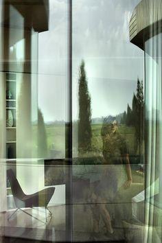 A Smart Home in the Netherlands by UNStudio - Design Milk Un Studio, Architecture Art Design, D House, Jena, Smart Home, Future House, Illusions, Netherlands, House Design