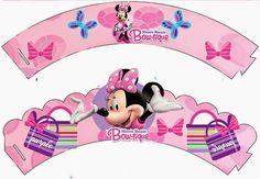 Kit de Minnie Boutique para Imprimir Gratis.