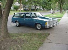 1975 Chevy Malibu Station Wagon by Johanna