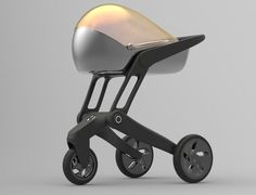 Air Shield is a concept baby stroller that creates pure and clean microclimate for your baby.