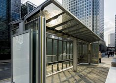 UK's first solar-powered glazed bus shelter generates enough electricity to power a London home