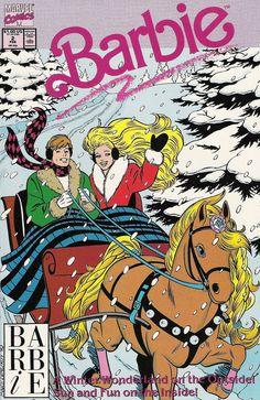 Barbie, Vol 1 (Comic Book) Christmas Comics, Christmas Poster, Christmas Books, Happy Holidays Barbie, Merry Christmas Happy Holidays, Vintage Cartoons, Vintage Comics, Vintage Books, Marvel Comic Books