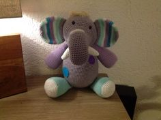Gehaakt olifantje