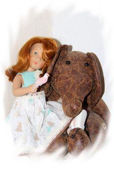 Noel pour les poupées minouche Sylvia Natterer