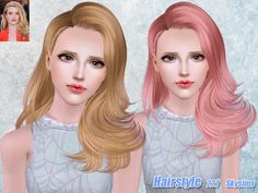 Hair 221 by Skysims - Sims 3 Downloads CC Caboodle