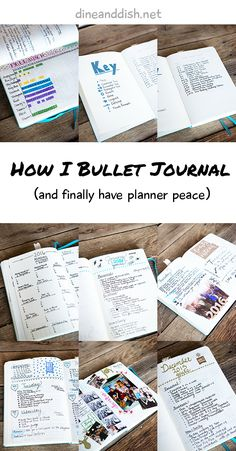 How I Bullet Journal and Finally Have Planner Peace! #BuJo #BulletJournal
