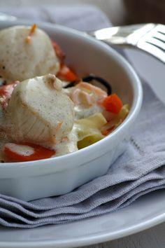 Saint Jacques sauce crémeuse à la vanille, zeste d'orange et poivre Timut