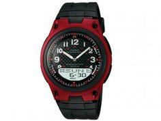 Relógio Masculino Casio AW-80-4BVDF - Anadigi com Cronômetro e Calendário 5d4bcfc524
