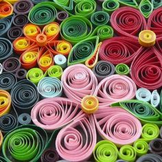 Quilling works by MaD  Follow the link to some great quilling project ideas
