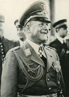 ■ Generalfeldmarschall Erhard Milch with the Social Welfare Decoration 1st Class on his neck.