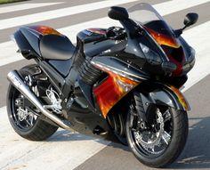 Gambar Modifikasi Kawasaki ZX 14R 1