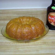 Fuzzy Navel Cake - I wish it was more from scratch, but I can't have everything, can I?