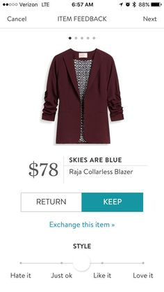 Great blazer in the